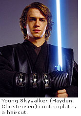 Young Skywalker and his 'do